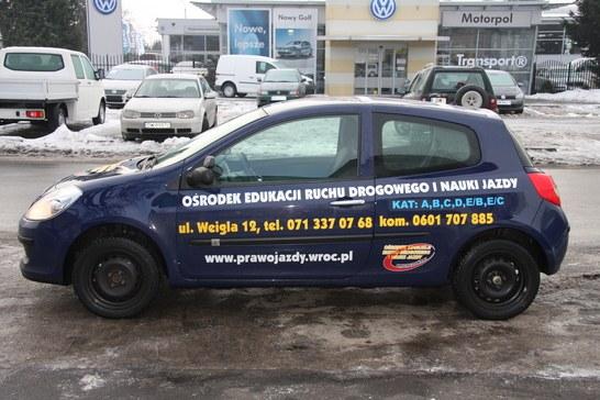 Renault clio word wrocław
