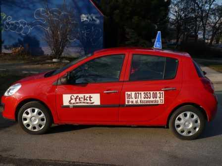 Renault clio szkoły efekt
